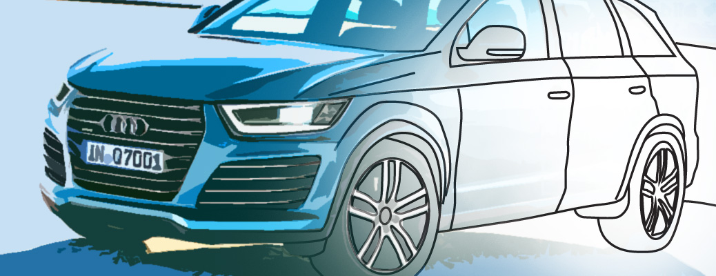 Read more about the article Раскраска Audi Q7 2014