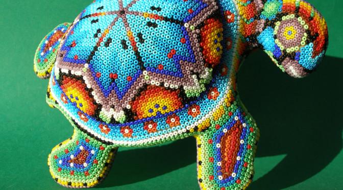 Черепаха из бисера