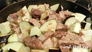 Рецепт свинина с кабачком