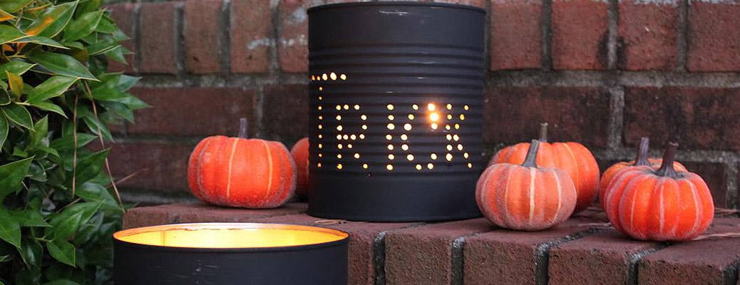 Рукодельные светильники на Хэллоуин