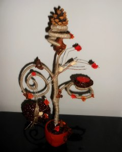 дерево из кофе своими руками