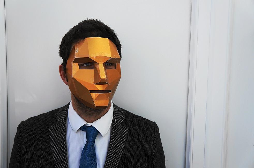 3d-маска из клипа Кончиты Вурст