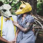 Простые и зрелищные маски от дизайнера Стива Винтеркрофта (Steve Wintercroft)