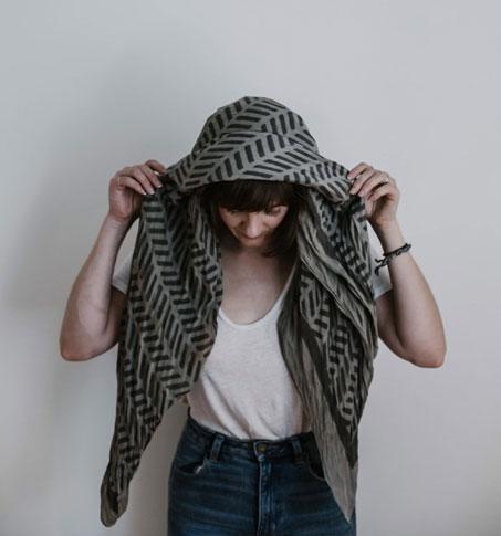 как повязать платок