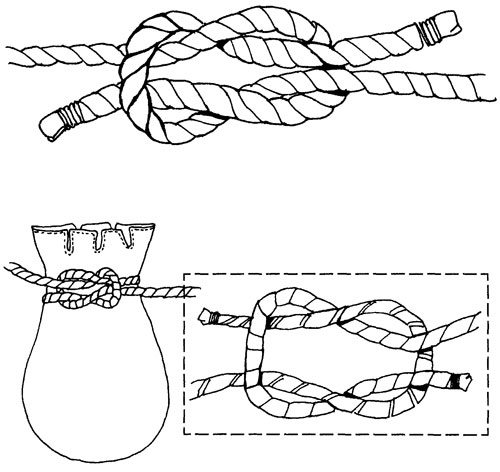 Как завязать воровской узел