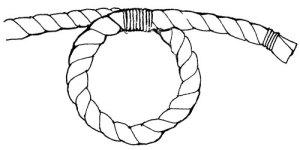 как завязывать узел клинч
