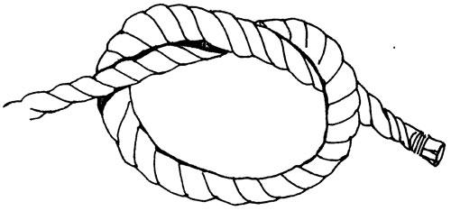 как завязать простой узел