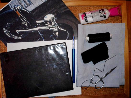 Необходимые вещи для изготовления пенала из коробки от компакт-диска